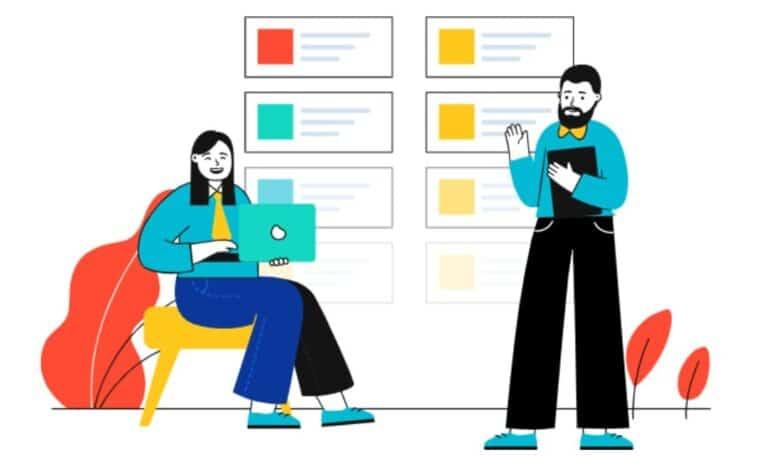 webデザインについてミーティング